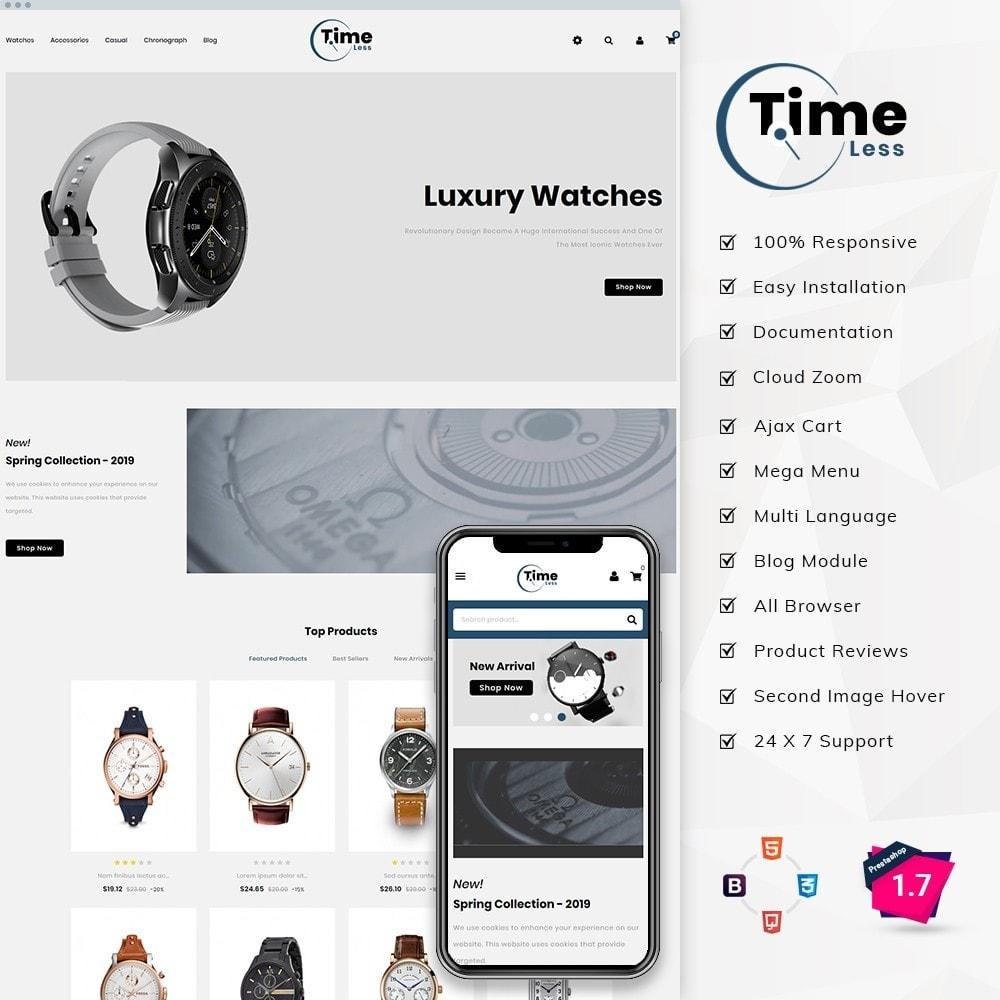 theme - Moda y Calzado - Timeless Watch Store - 2