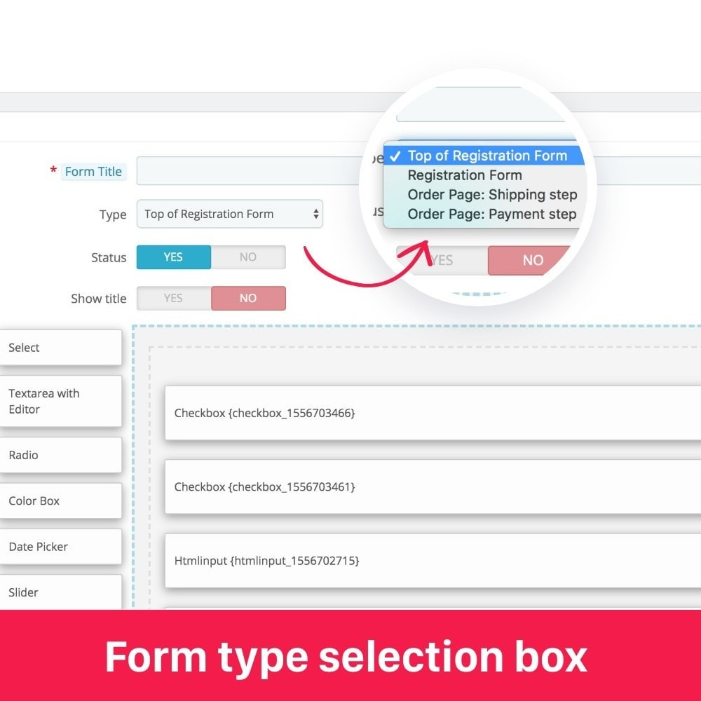 module - Registration & Ordering Process - 2in1 Custom registration fields, Custom checkout fields - 7