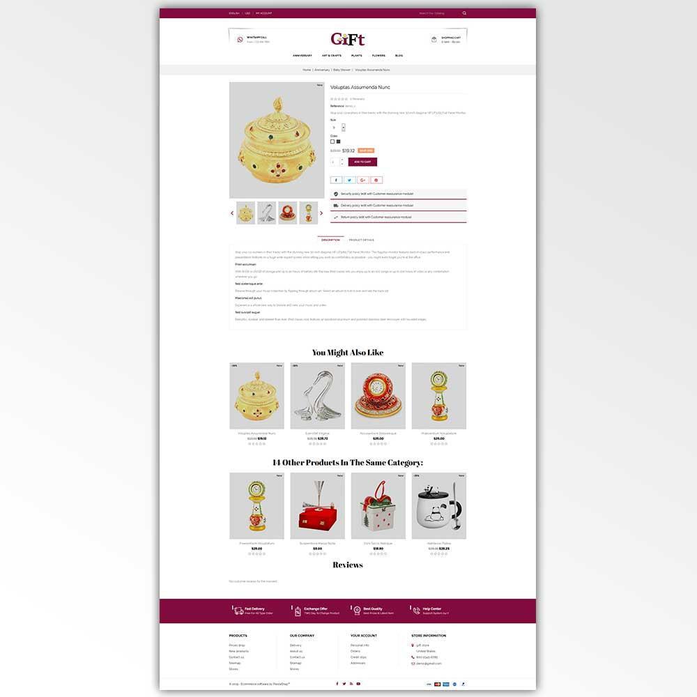 theme - Regalos, Flores y Celebraciones - Gift - Store - 5
