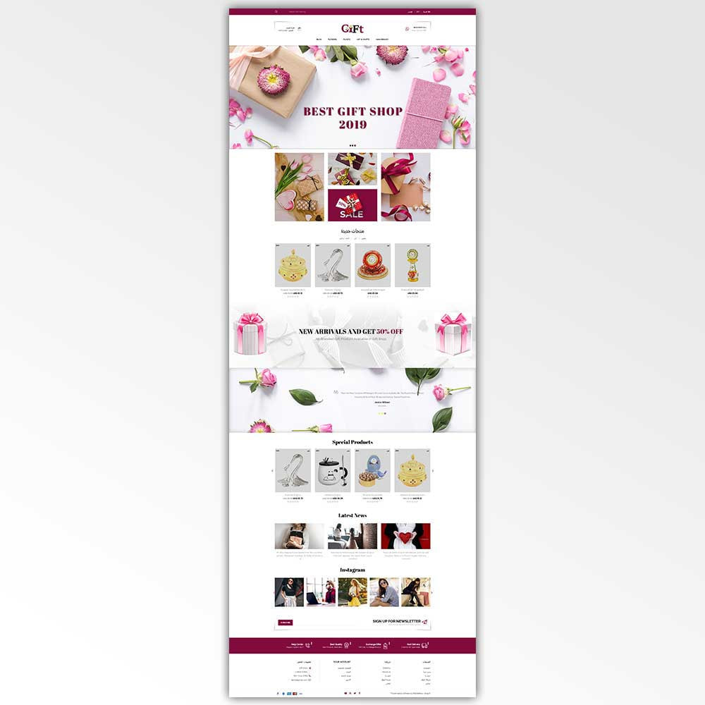 theme - Gifts, Flowers & Celebrations - Gift - Store - 10