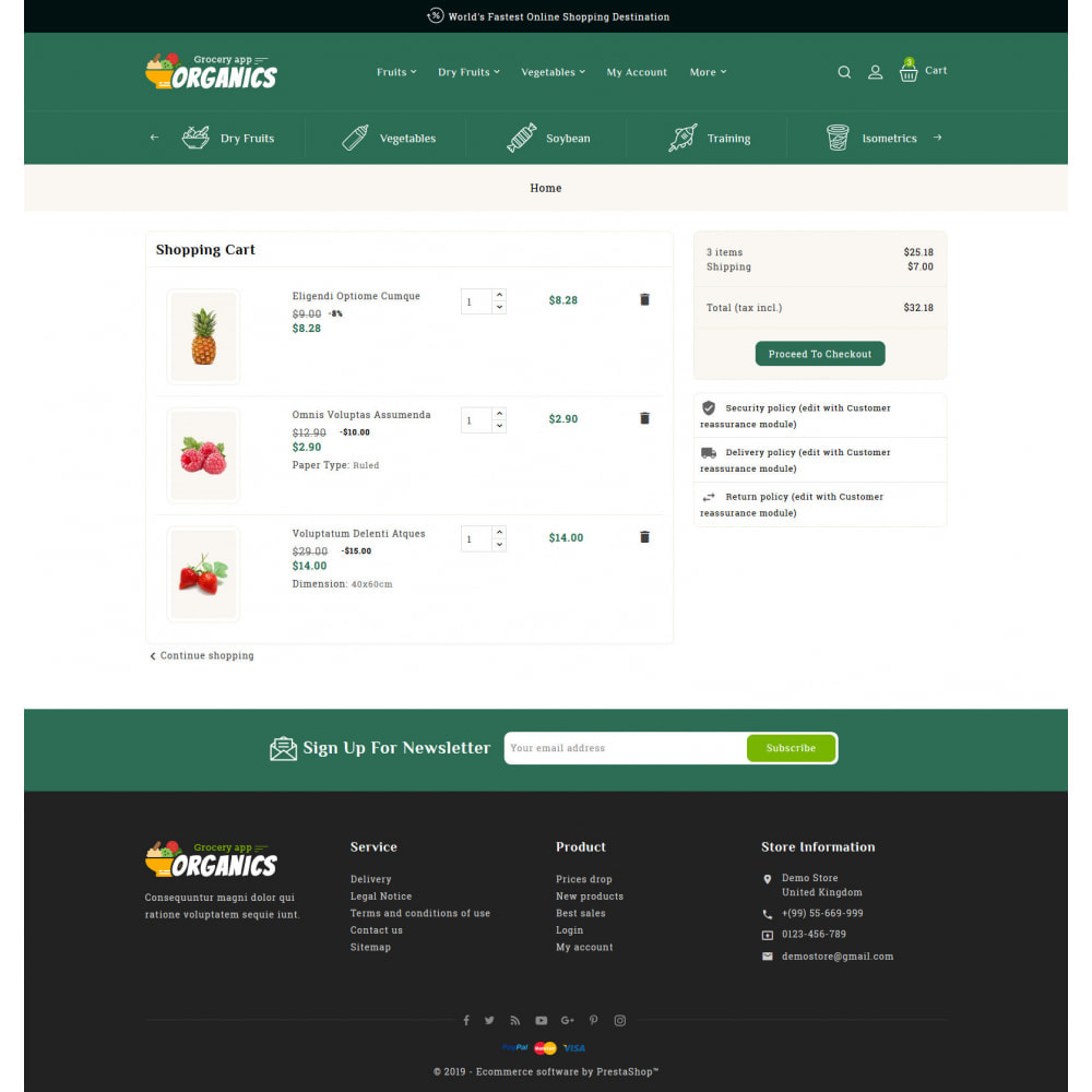 theme - Lebensmittel & Restaurants - Organics - Online Grocery Shop - 6