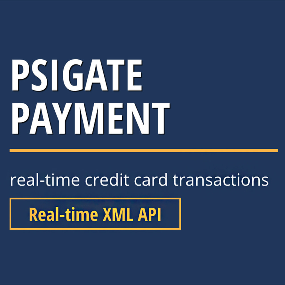 module - Payment by Card or Wallet - PsiGate credit card transactions API - 1