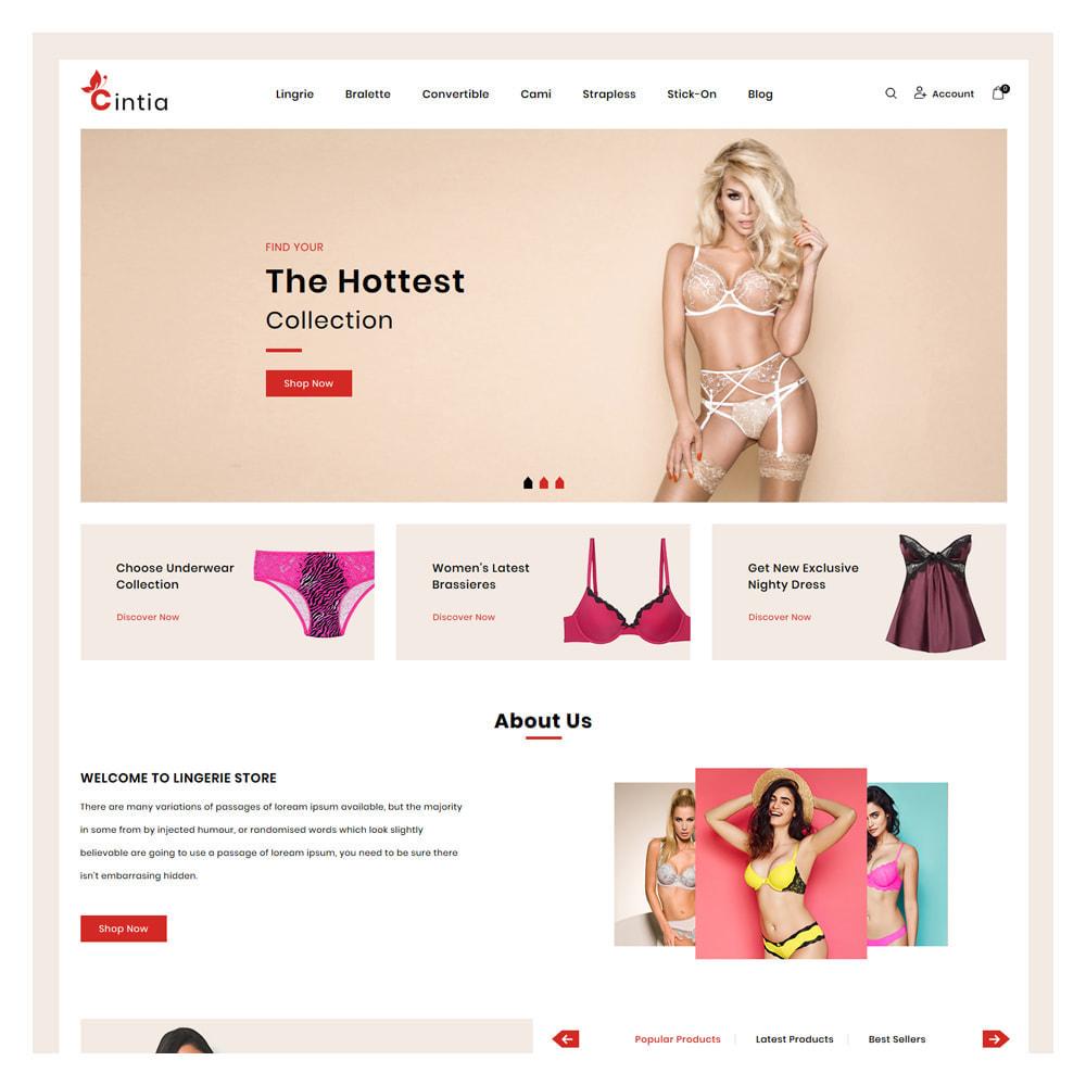 theme - Lingerie & Erwachsene - Cintia Lingerie & Adult Store - 2