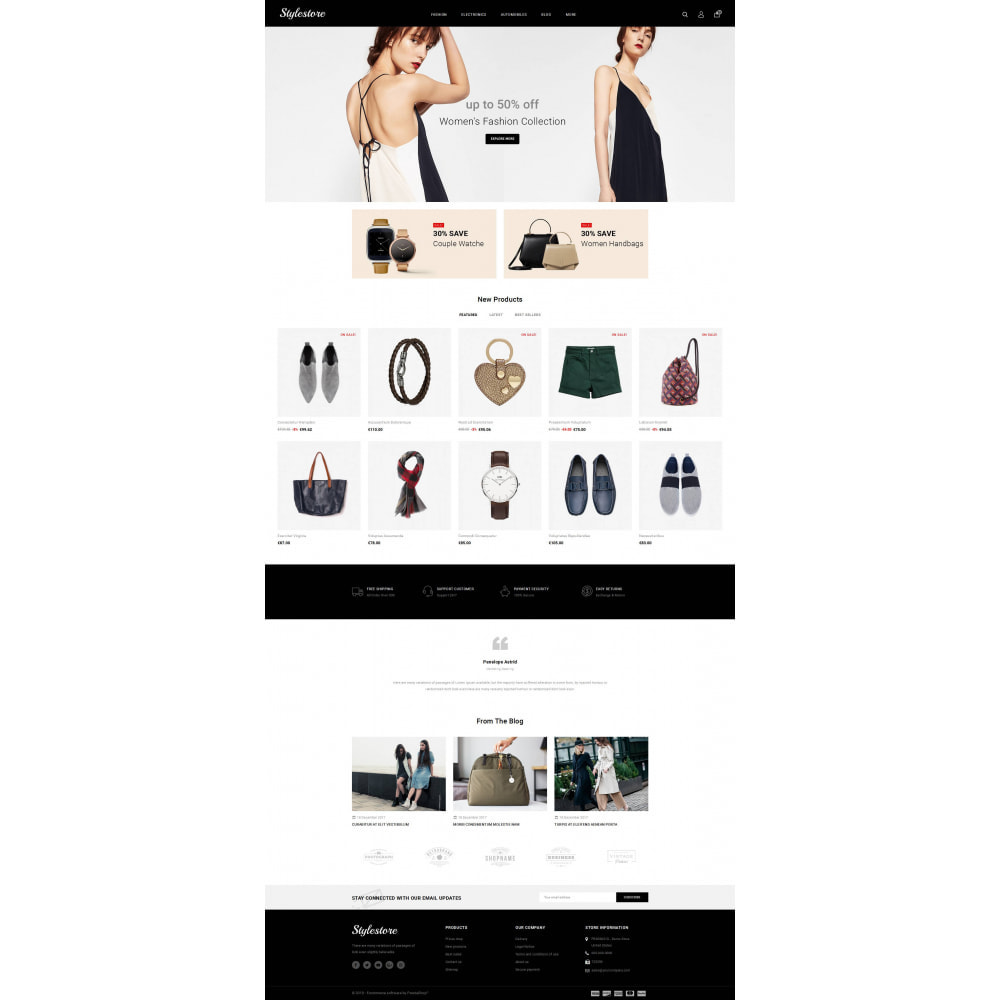 theme - Fashion & Shoes - Unique Style Store - 2