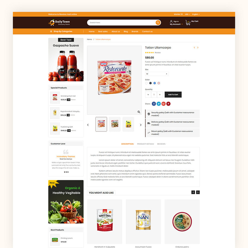 theme - Food & Restaurant - Daily Town Grocery Store - 7