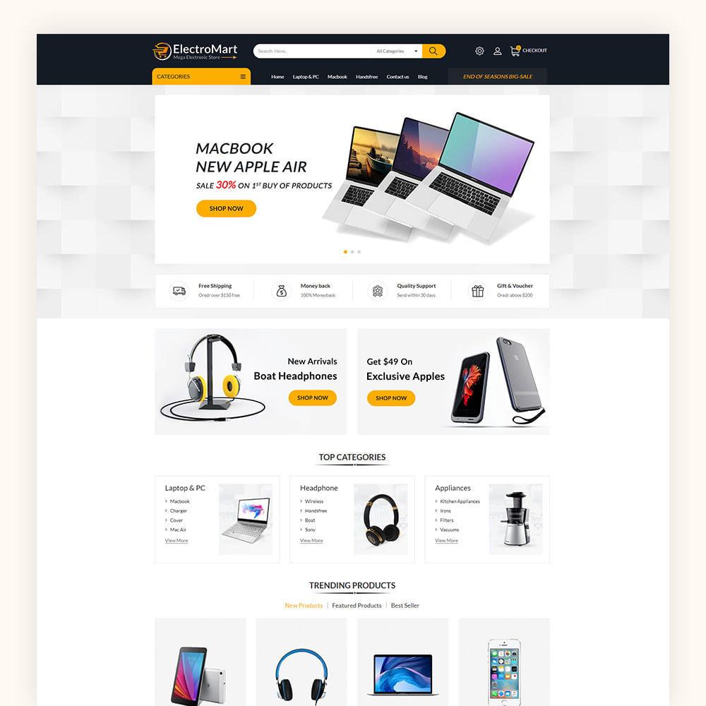 theme - Elektronika & High Tech - Electromart Mega Store - 2