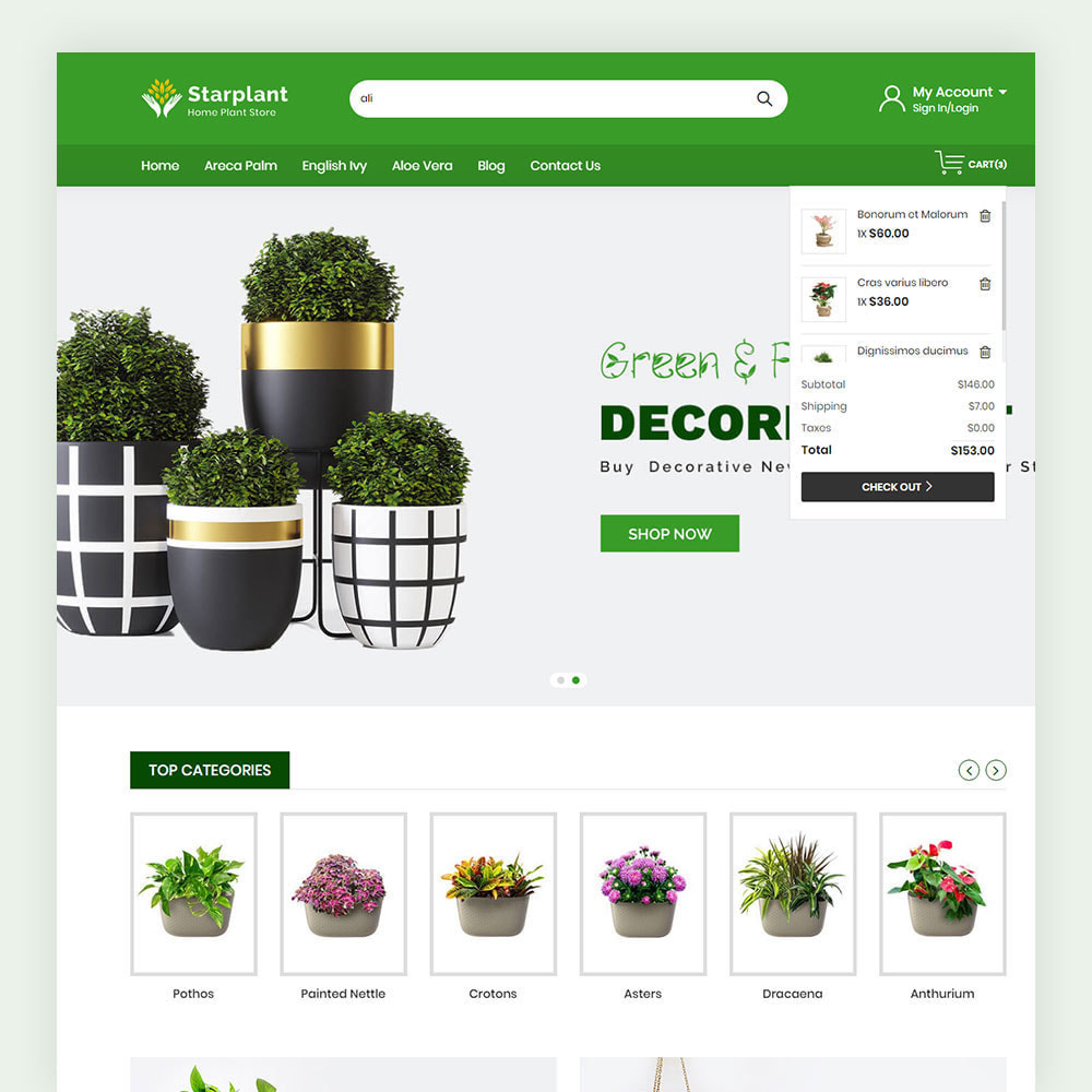 theme - Hogar y Jardín - Starplant Plant Store - 4