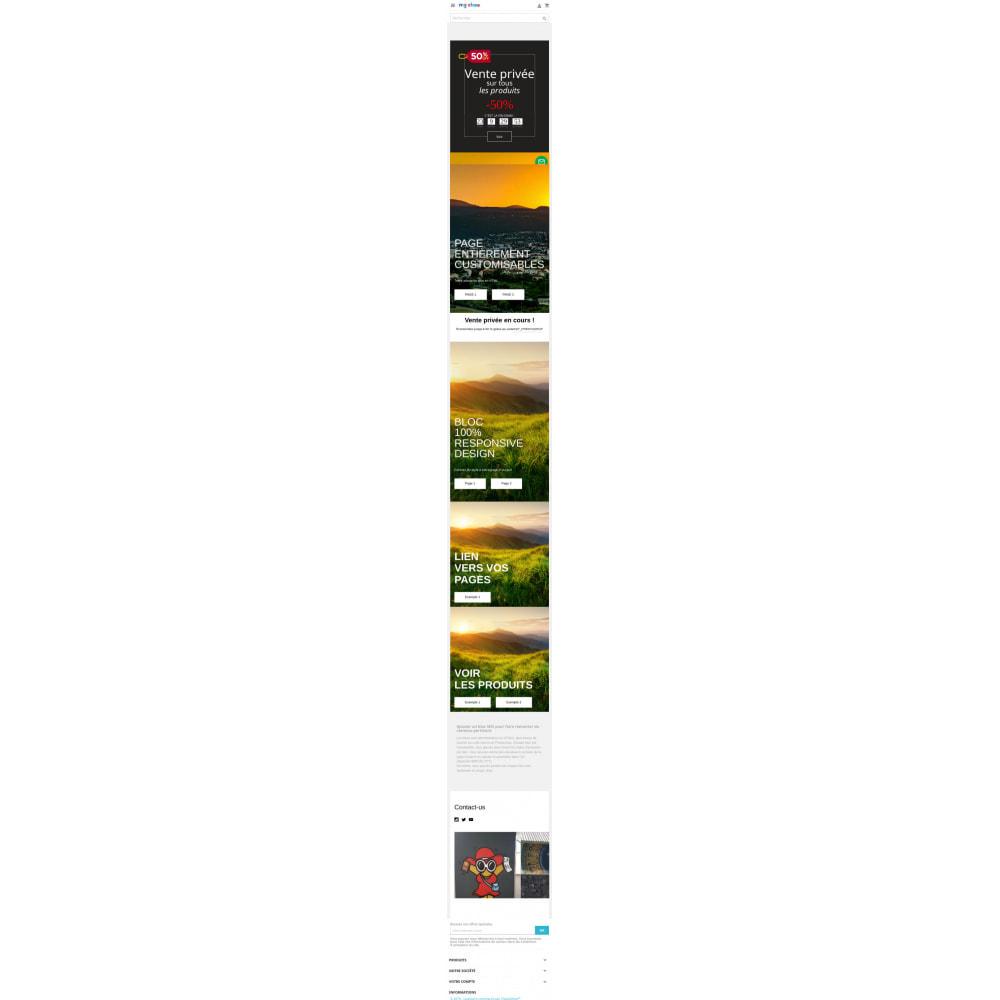 module - Page Customization - HTML blocks - home page - 3