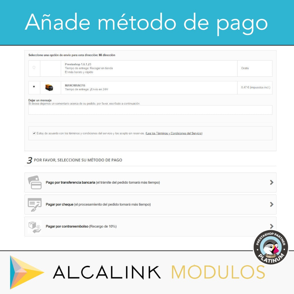 module - Pago a la Entrega (contrarrembolso) - Pago contrareembolso con recargo/comisión - 4