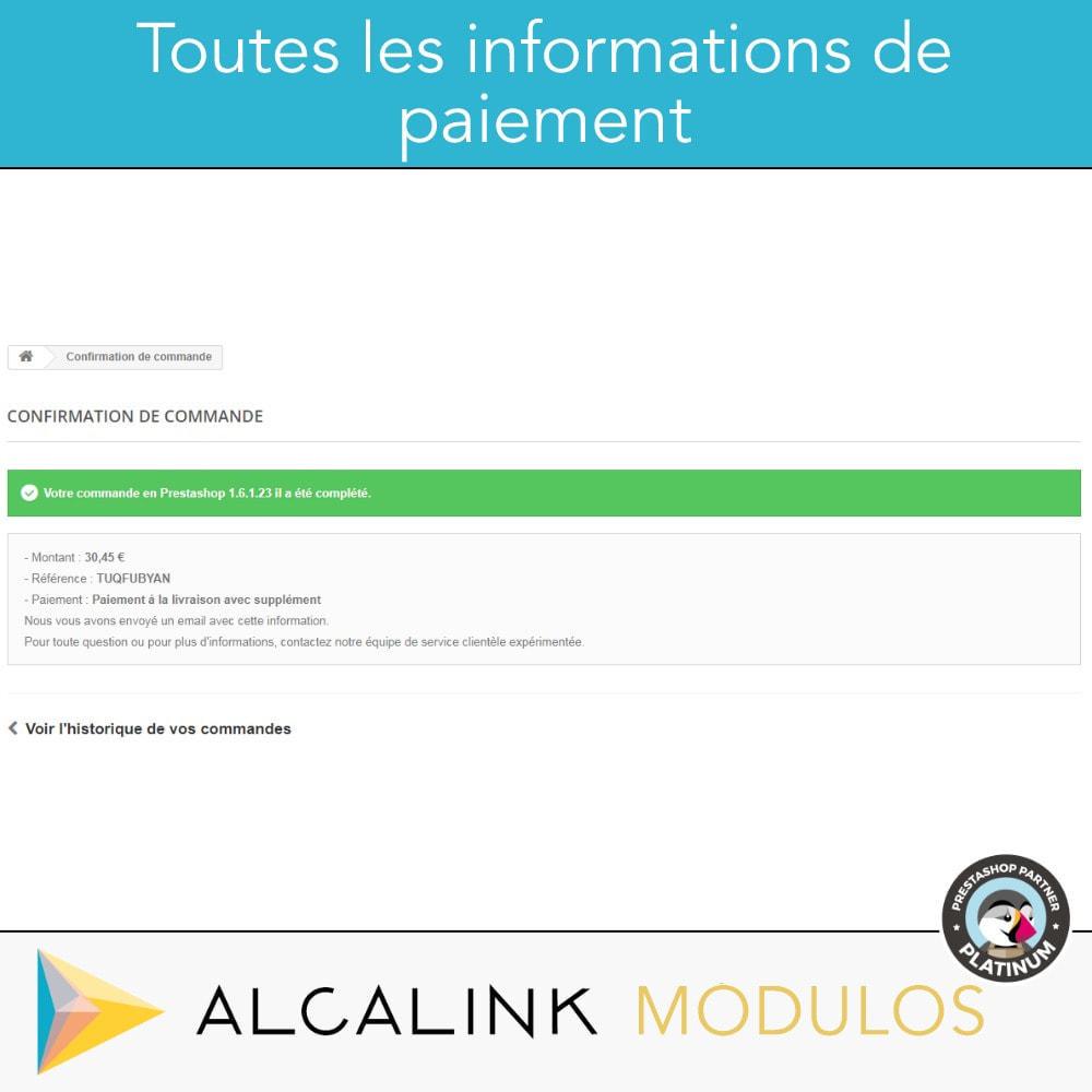 module - Paiement à la Livraison (COD) - Paiement à la livraison avec commission/supplément - 5