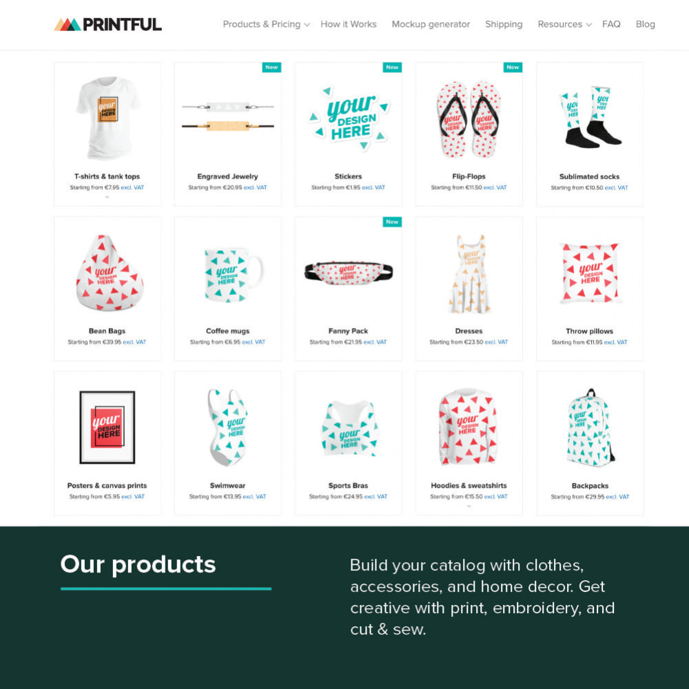 module - Dropshipping - Printful: Print-on-Demand Dropshipping - 1
