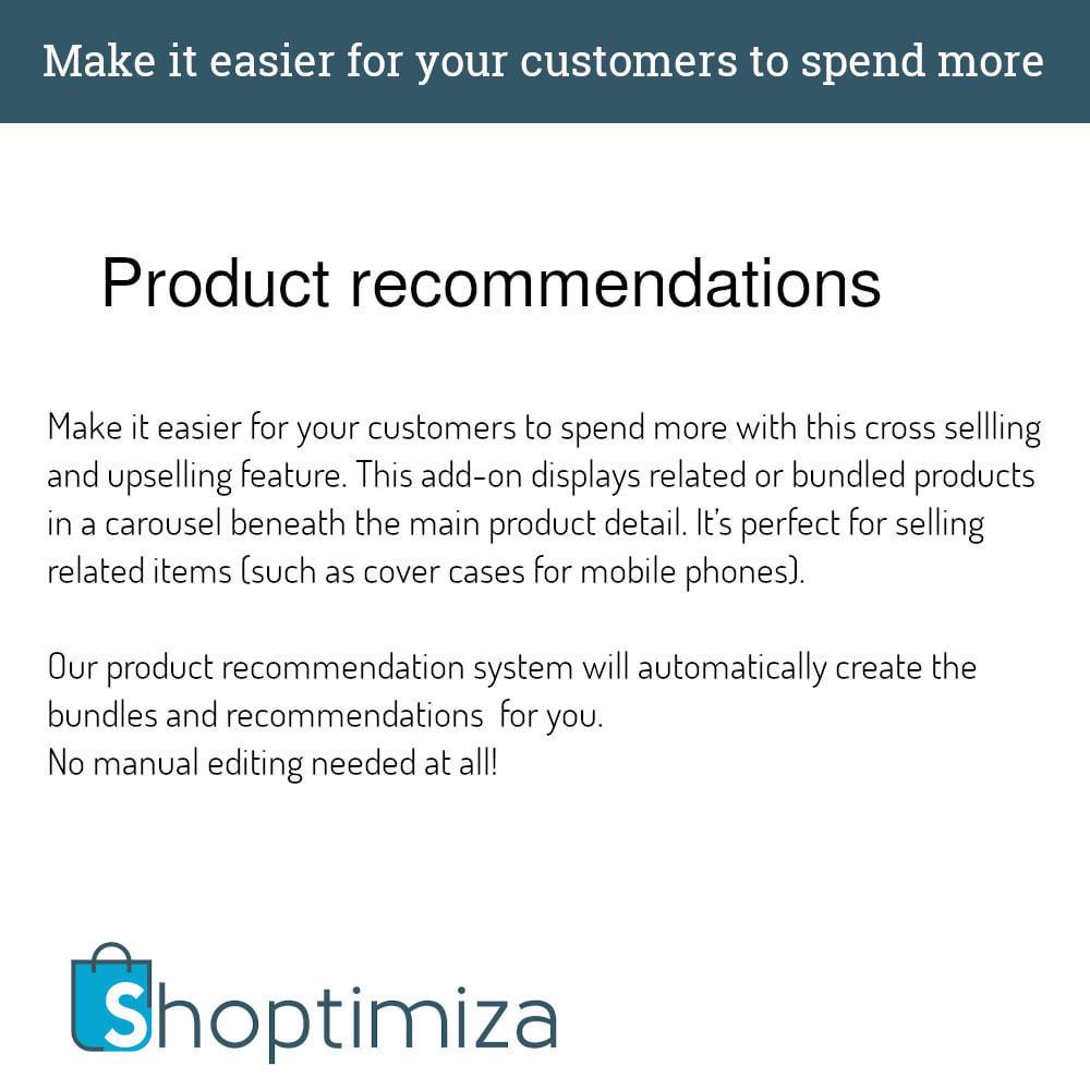 module - Перекрестные продажи и Создание комплектов - Shoptimiza Cross sell - 1
