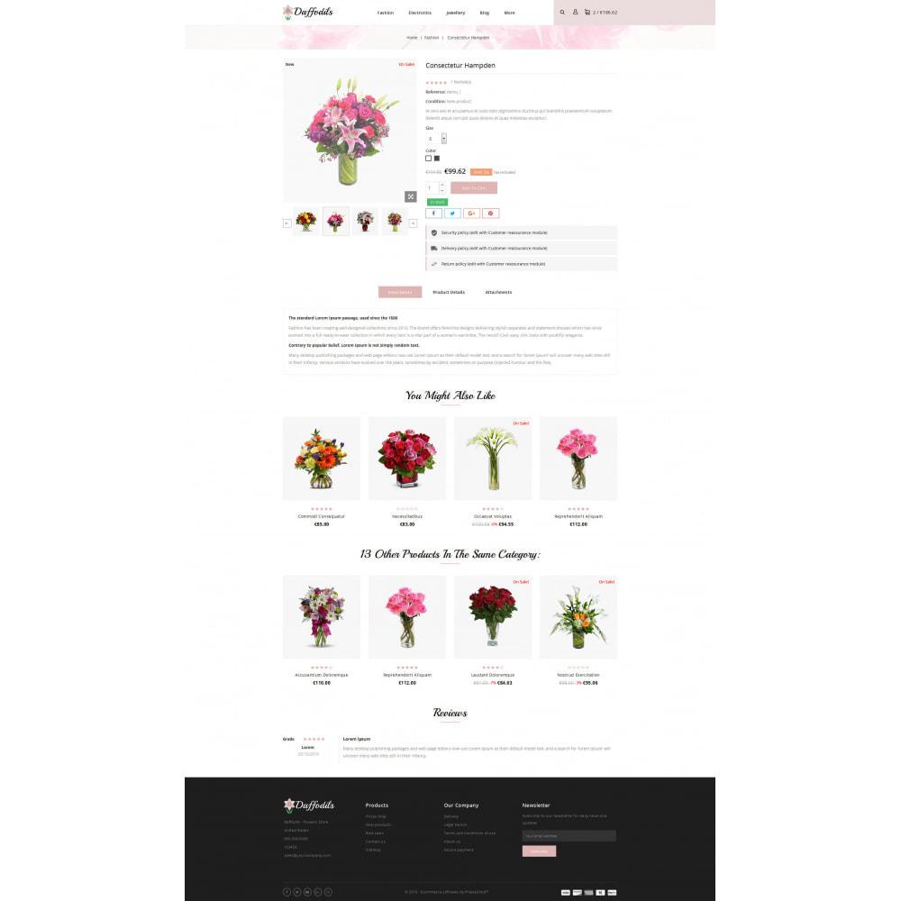 theme - Prezenty, Kwiaty & Uroczystości - Daffodils - Flowers Store - 5