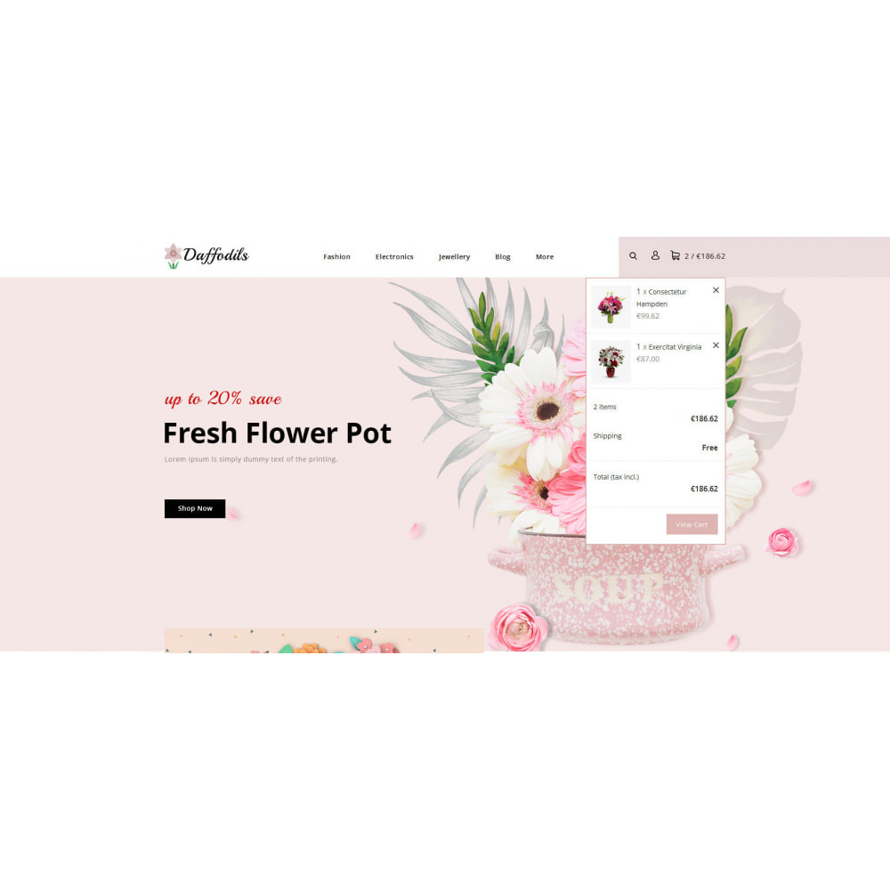 theme - Gifts, Flowers & Celebrations - Daffodils - Flowers Store - 7