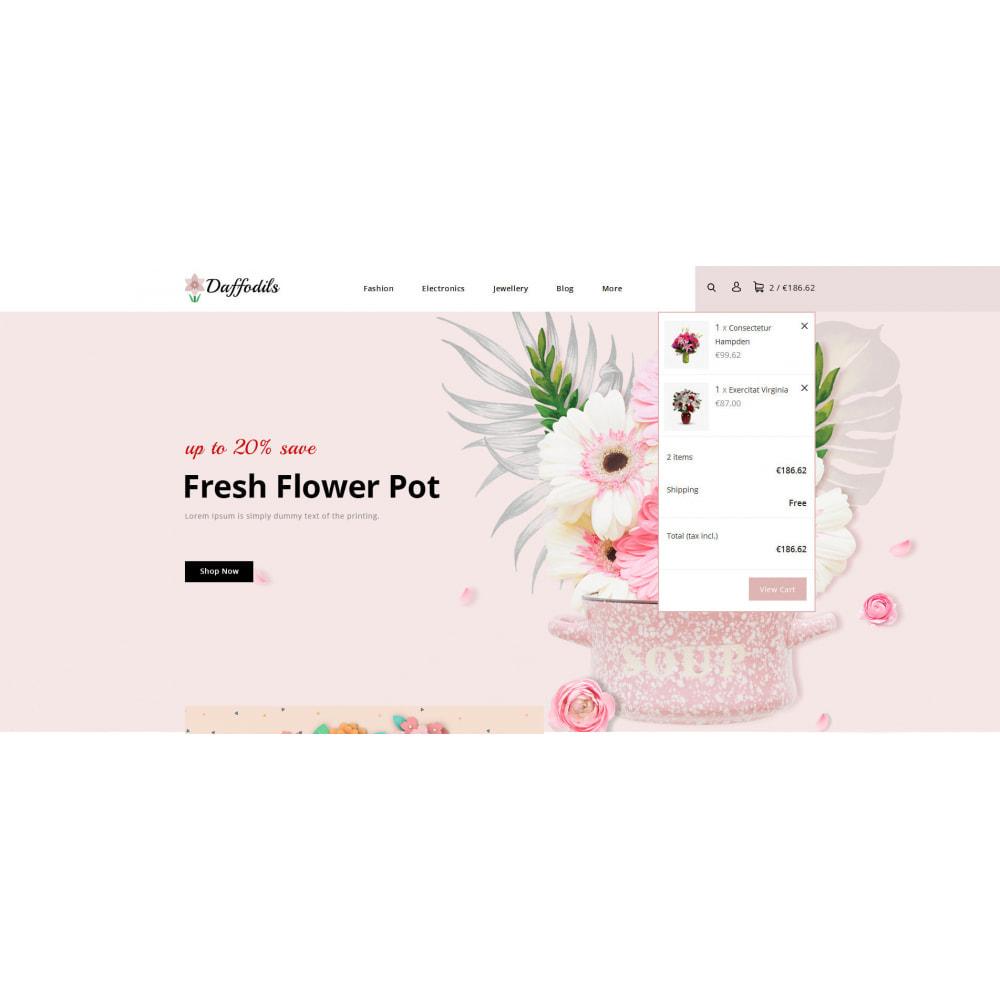 theme - Prezenty, Kwiaty & Uroczystości - Daffodils - Flowers Store - 7