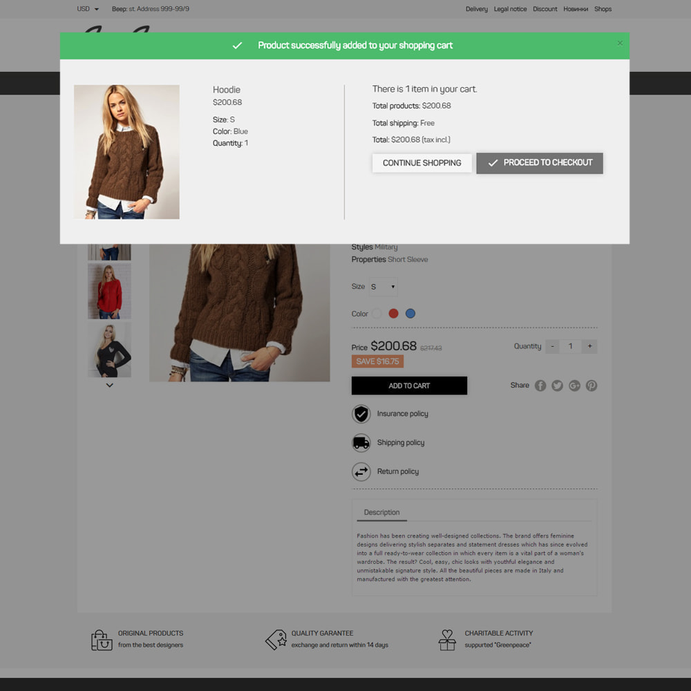 theme - Mode & Schoenen - Beep Clothes Store - 6