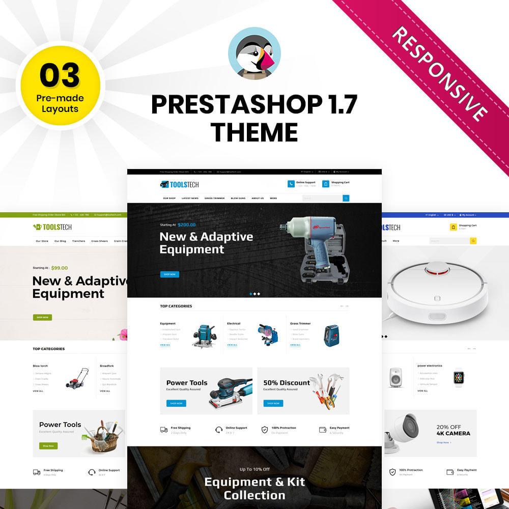 theme - Electrónica e High Tech - ToolTech - La tienda de herramientas - 2