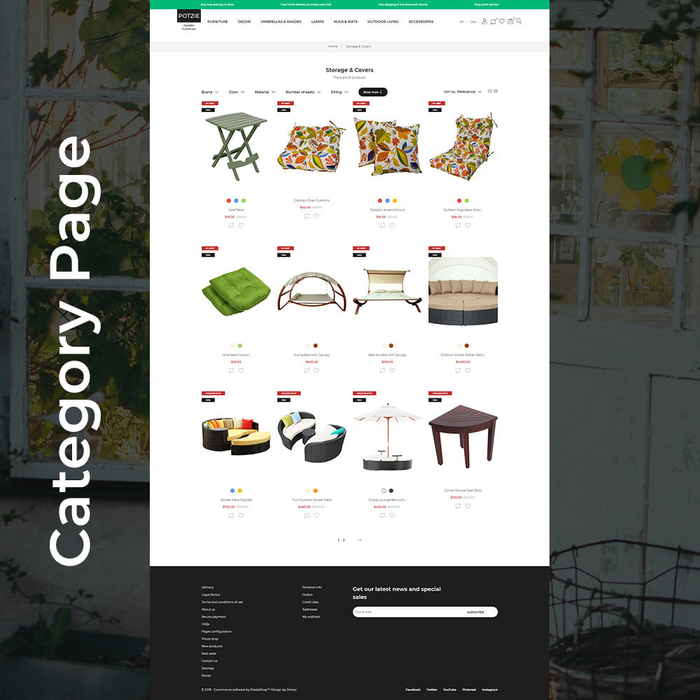 theme - Дом и сад - Potzie - Garden Furniture - 4