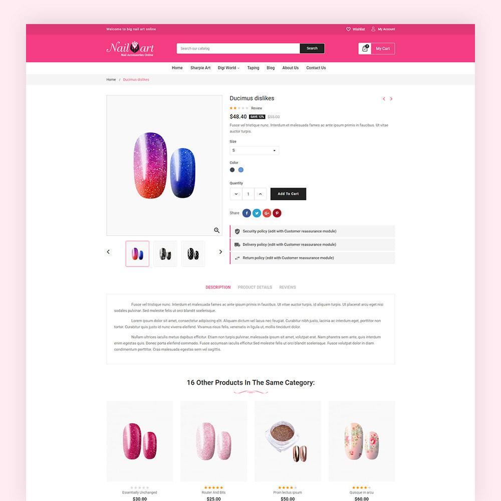 theme - Salute & Bellezza - Nailart Beauty Store - 7