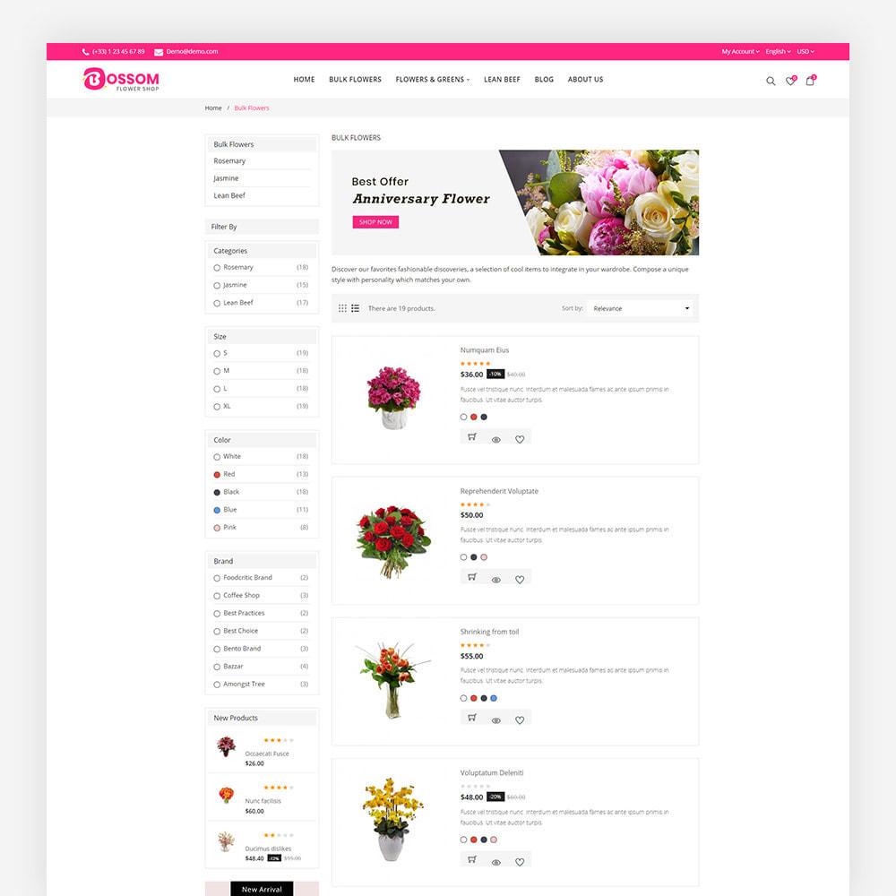 theme - Presentes, Flores & Comemorações - Bossom Flower Shop - 6