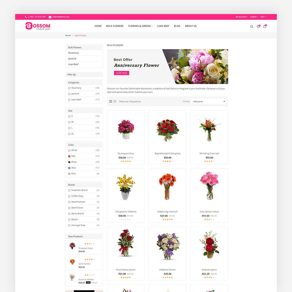 theme - Cadeaux, Fleurs et Fêtes - Bossom Flower Shop - 6
