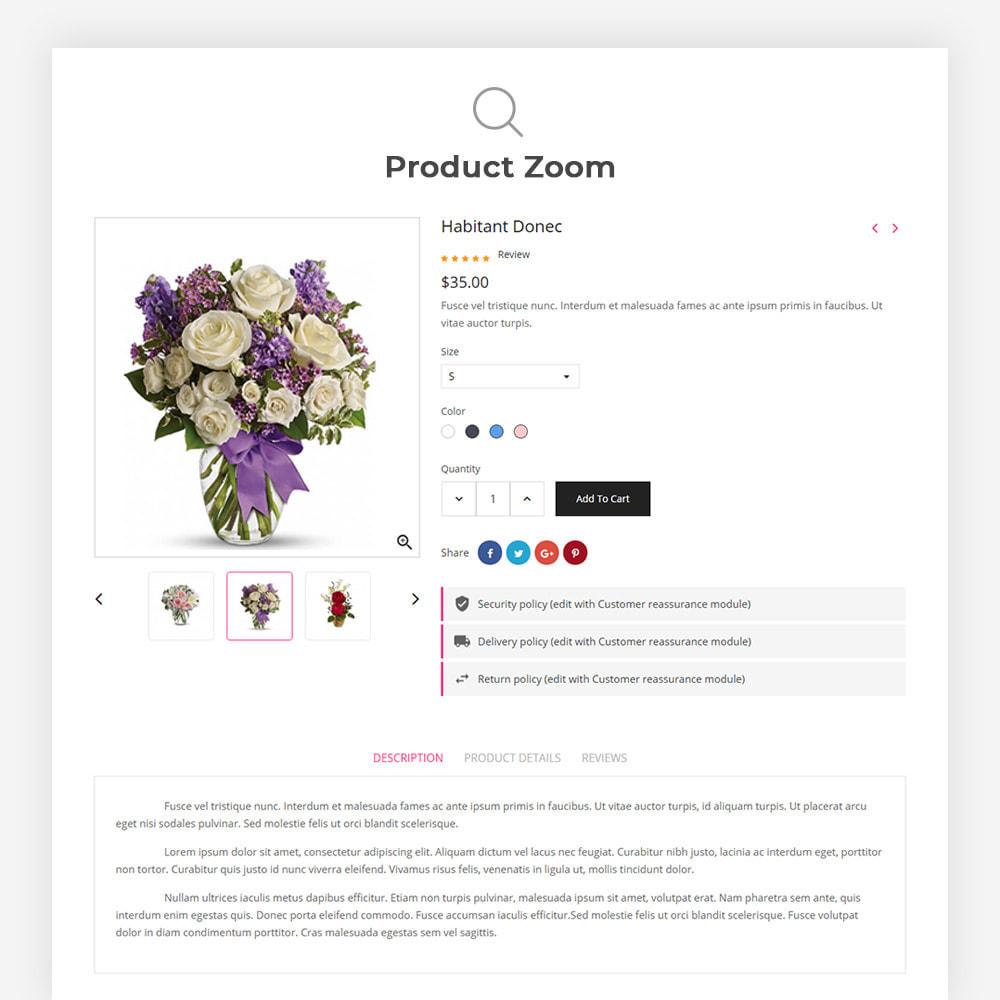 theme - Cadeaux, Fleurs et Fêtes - Bossom Flower Shop - 9