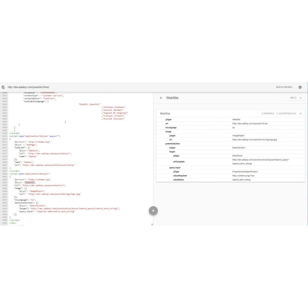 module - SEO - Vollständige Integration von MIKRODATEN und OPEN GRAPH - 10
