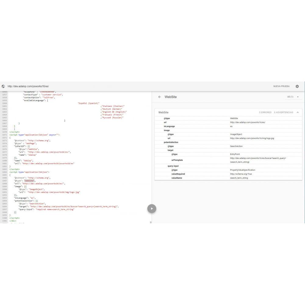 module - SEO (Indicizzazione naturale) - Integrazione JSON-LD MICRODATI e OPEN GRAPH - SEO - 16