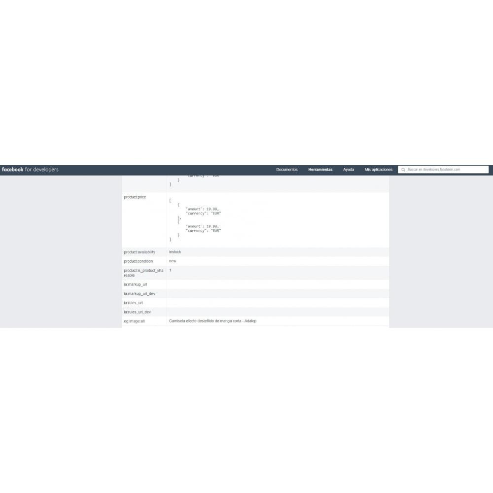 module - SEO (référencement naturel) - Intégration complète de MICRODATA et OPEN GRAPH - SEO - 21