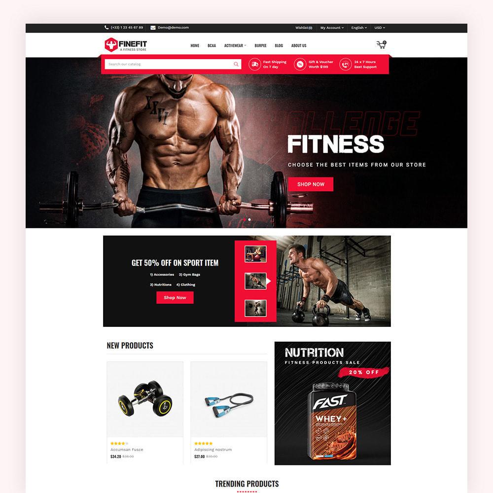 theme - Sport, Aktivitäten & Reise - Finefit Fitness Store - 2
