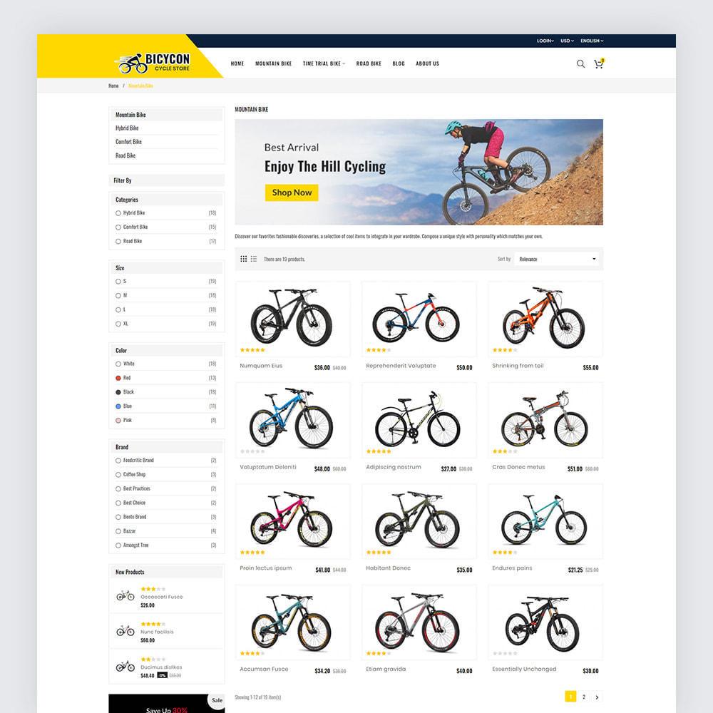 theme - Deportes, Actividades y Viajes - Bicycon Cycle Store - 5