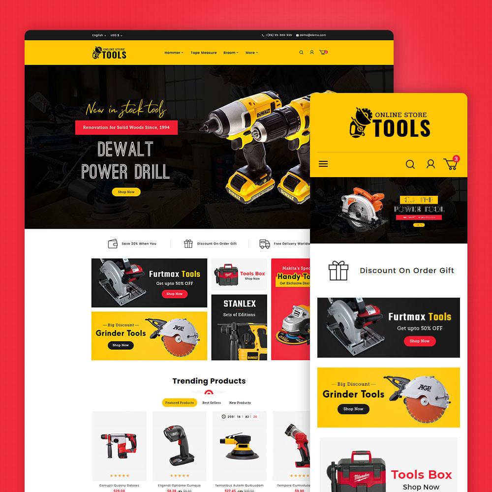 theme - Home & Garden - Power Tools & Equipment - 1