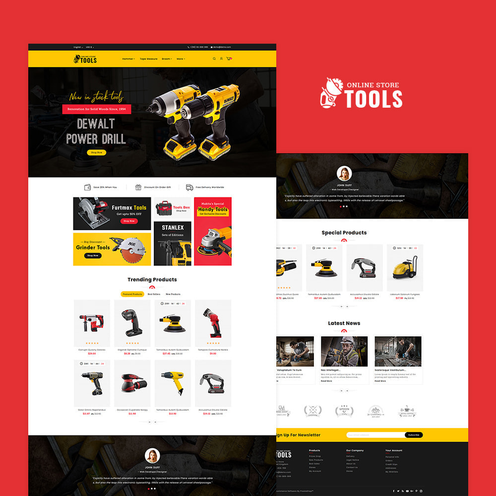 theme - Home & Garden - Power Tools & Equipment - 2