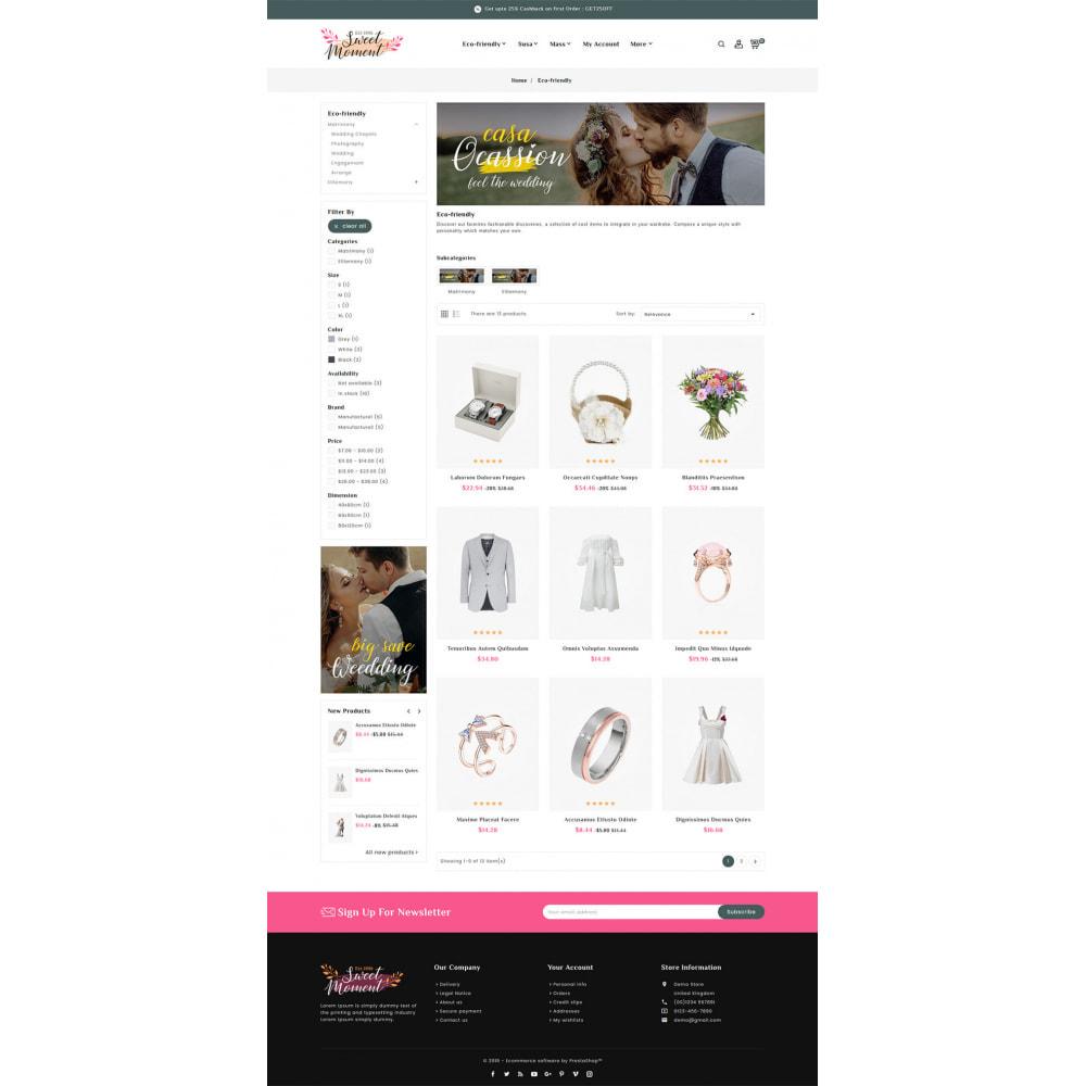 theme - Moda & Obuwie - Sweet Moment - Wedding Shop - 3
