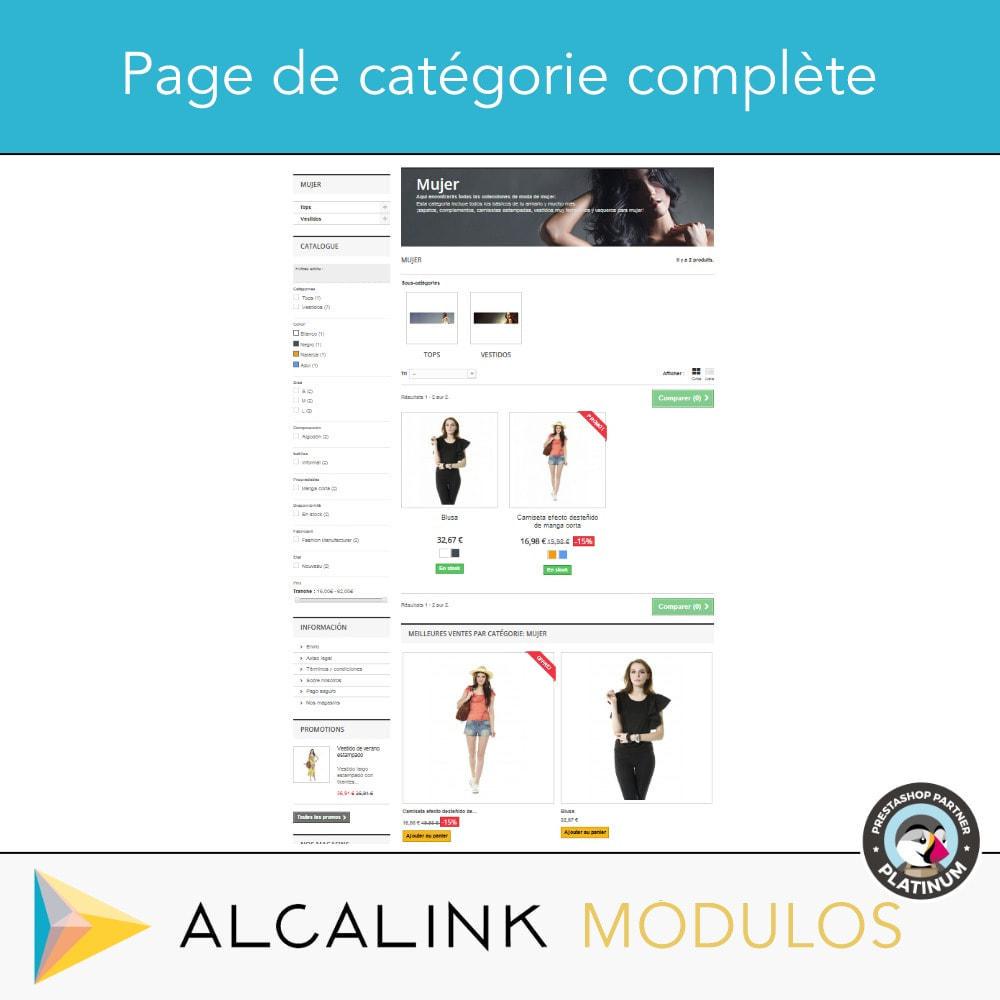 module - Blocs, Onglets & Bannières - Produits les plus vendus PAR CATÉGORIE - 5
