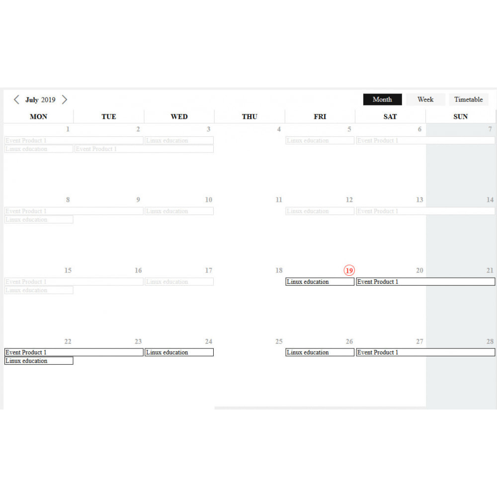 module - Verhuur en reserveringen - Recurring Events Calendar PRO, Sell Your Events Online - 4