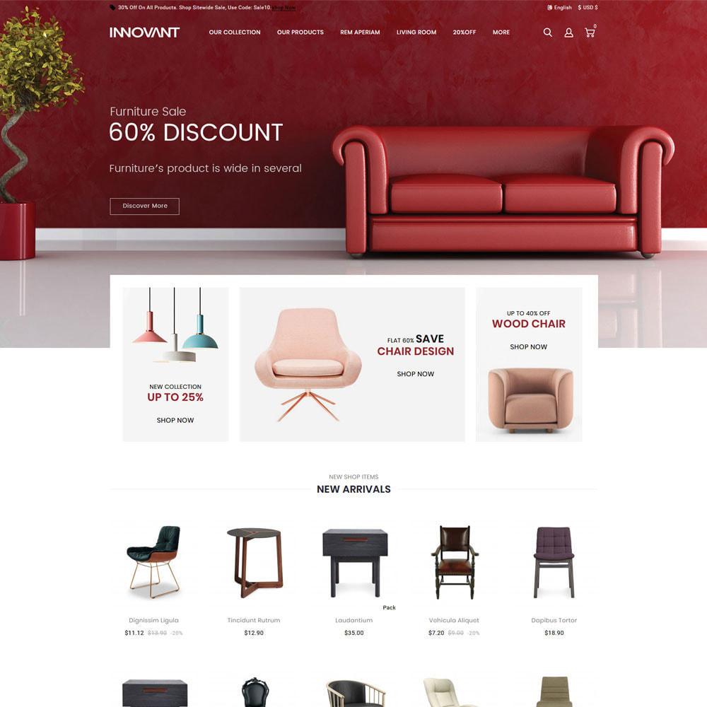 theme - Maison & Jardin - Innovant - Le magasin de meubles - 4