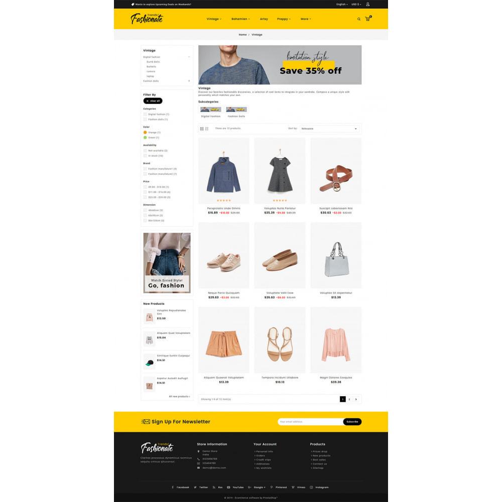 theme - Fashion & Shoes - Fashionate - Clothes & Trends - 3