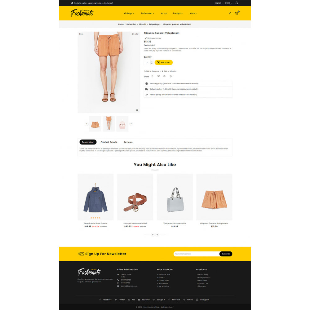 theme - Fashion & Shoes - Fashionate - Clothes & Trends - 5