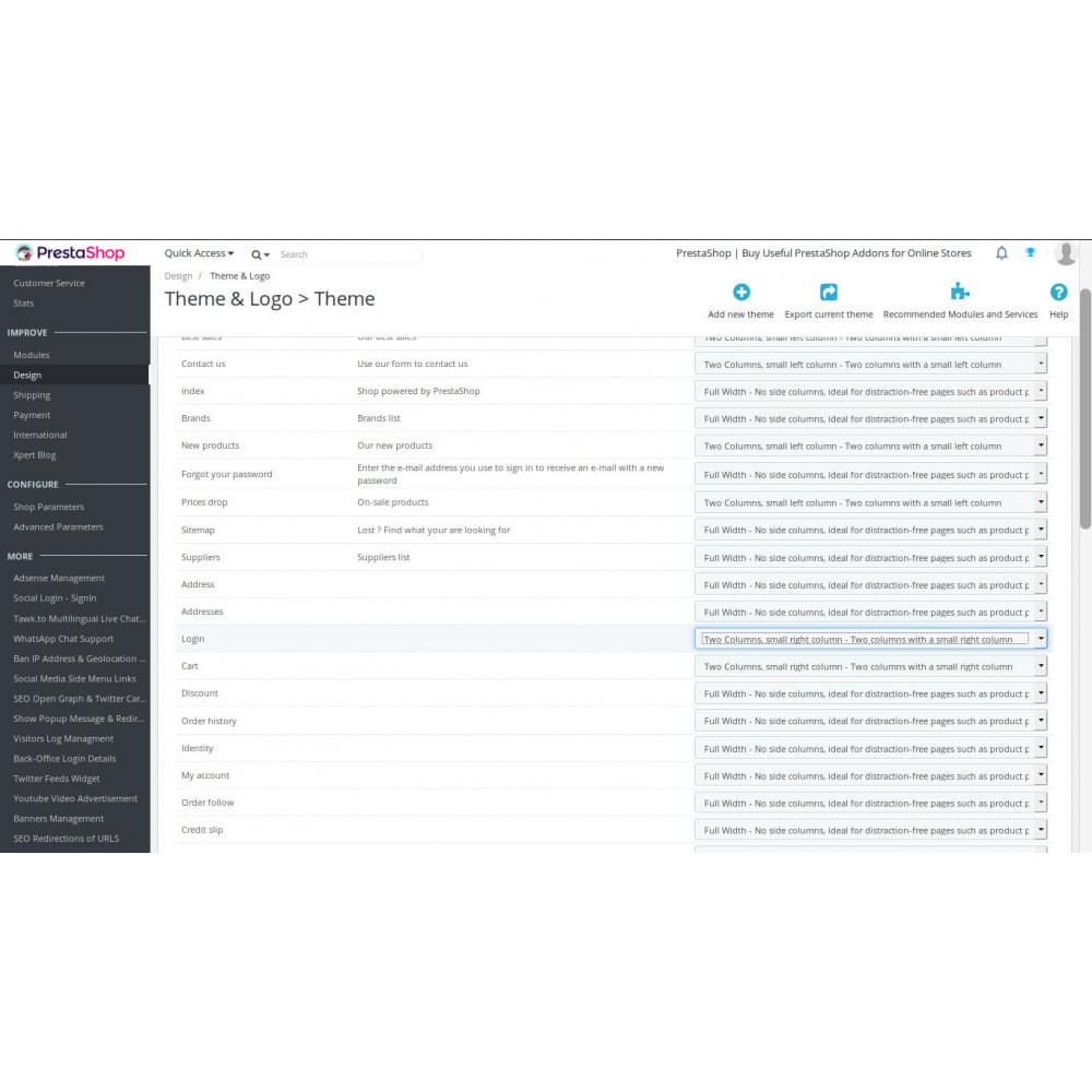 module - Botones de inicio de Sesión/Conexión - Inicio de sesión social usando redes sociales - 3