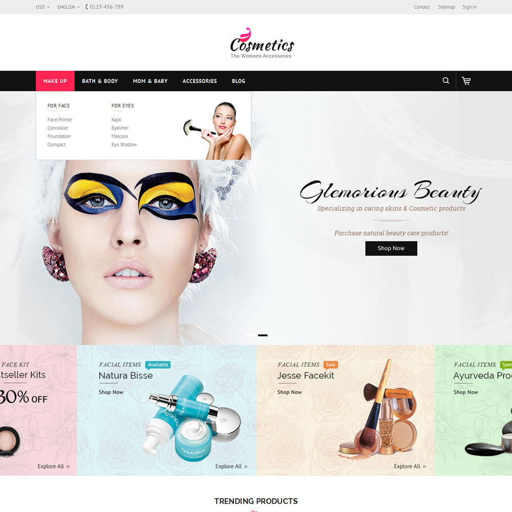 theme - Health & Beauty - Cosmetic Store - 6