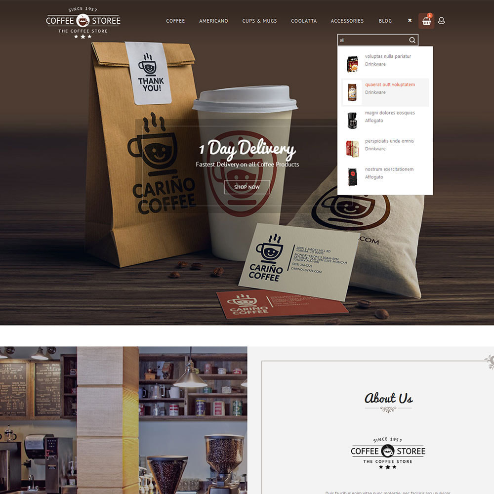 theme - Drink & Wine - Coffee Store - 7
