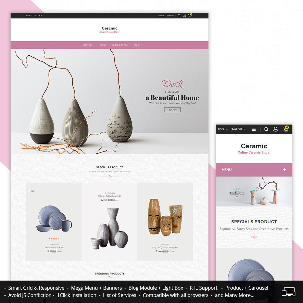 theme - Дом и сад - Ceramic Store - 1
