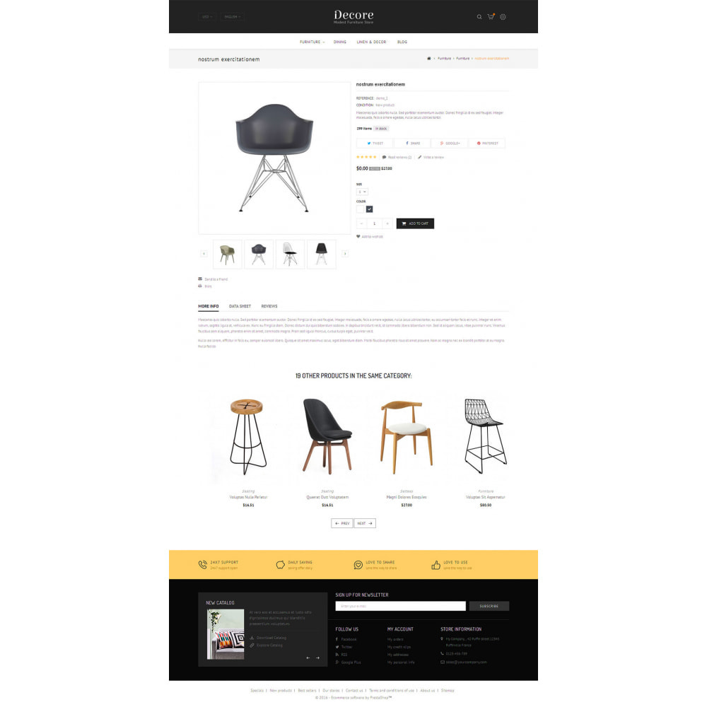theme - Dom & Ogród - Decore - Modest Furniture Store - 4