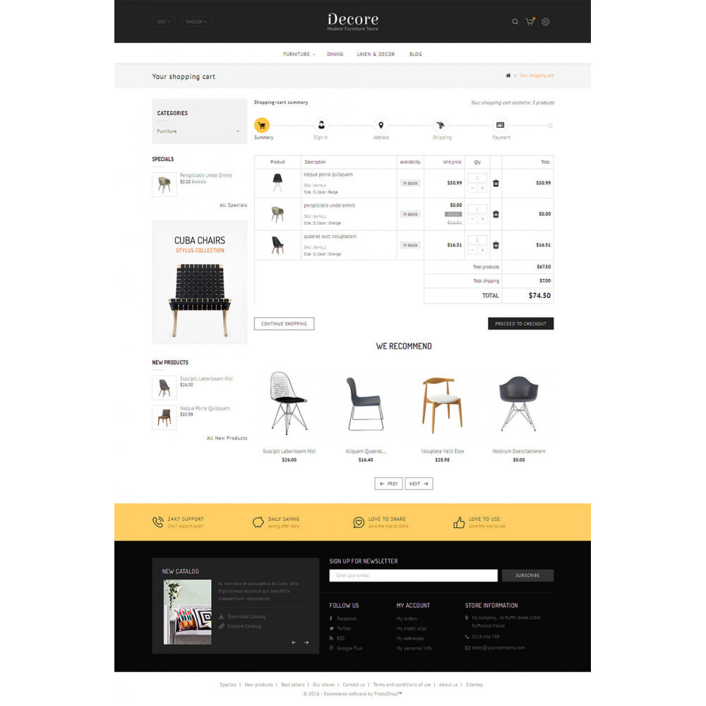 theme - Dom & Ogród - Decore - Modest Furniture Store - 5