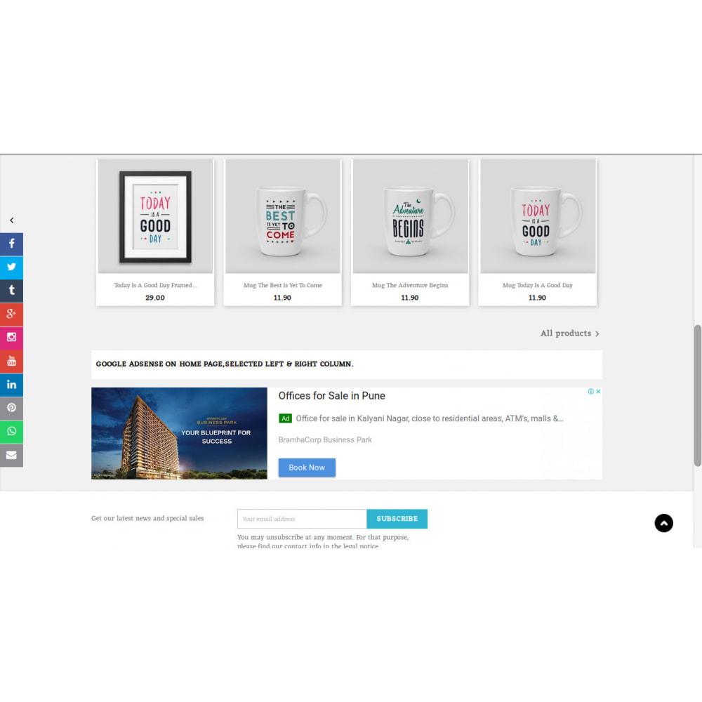 module - Blocchi, Schede & Banner - Gestione di Google Adsense - 4