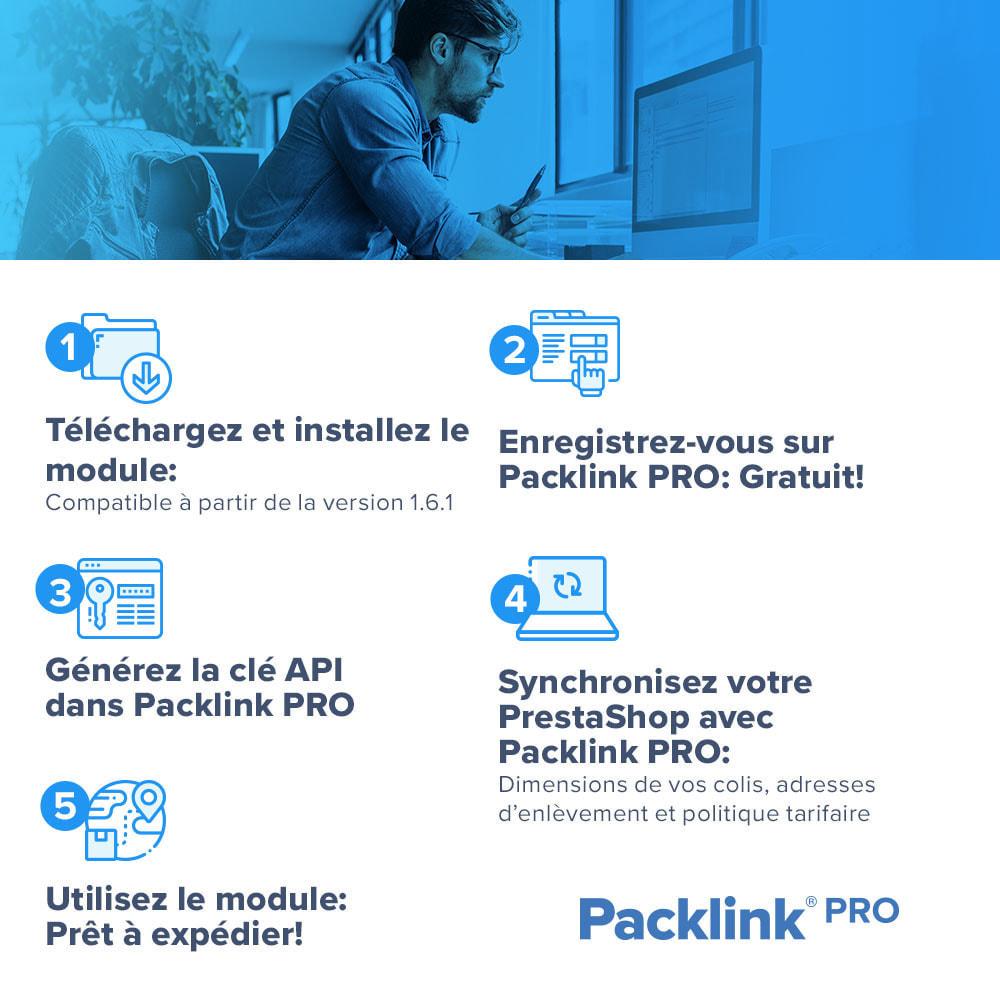 module - Frais de port - d'Expéditions Packlink PRO - Livraison - 2