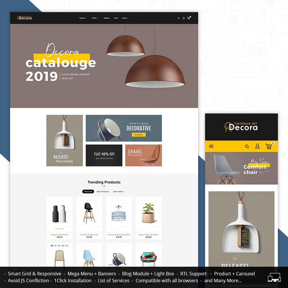 theme - Dom & Ogród - Decora - Furniture Crafts & Art - 1