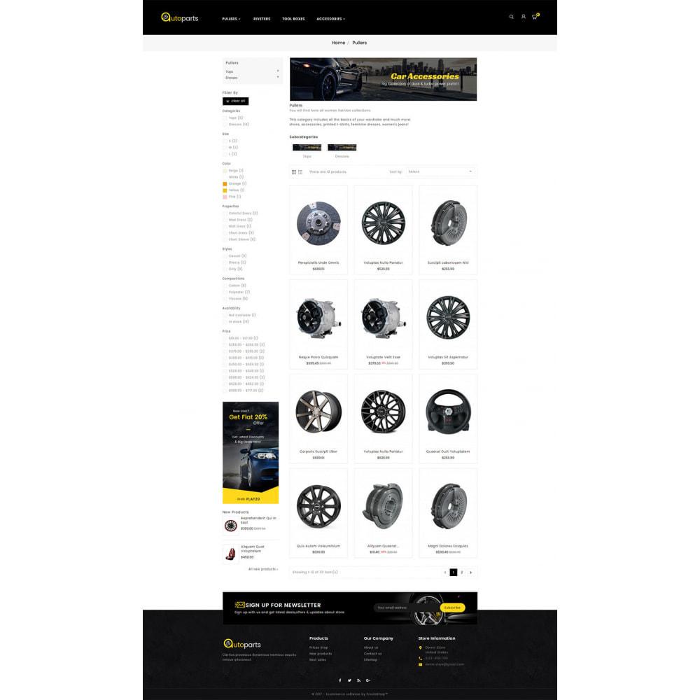 theme - Samochody - Auto Parts Store - 3