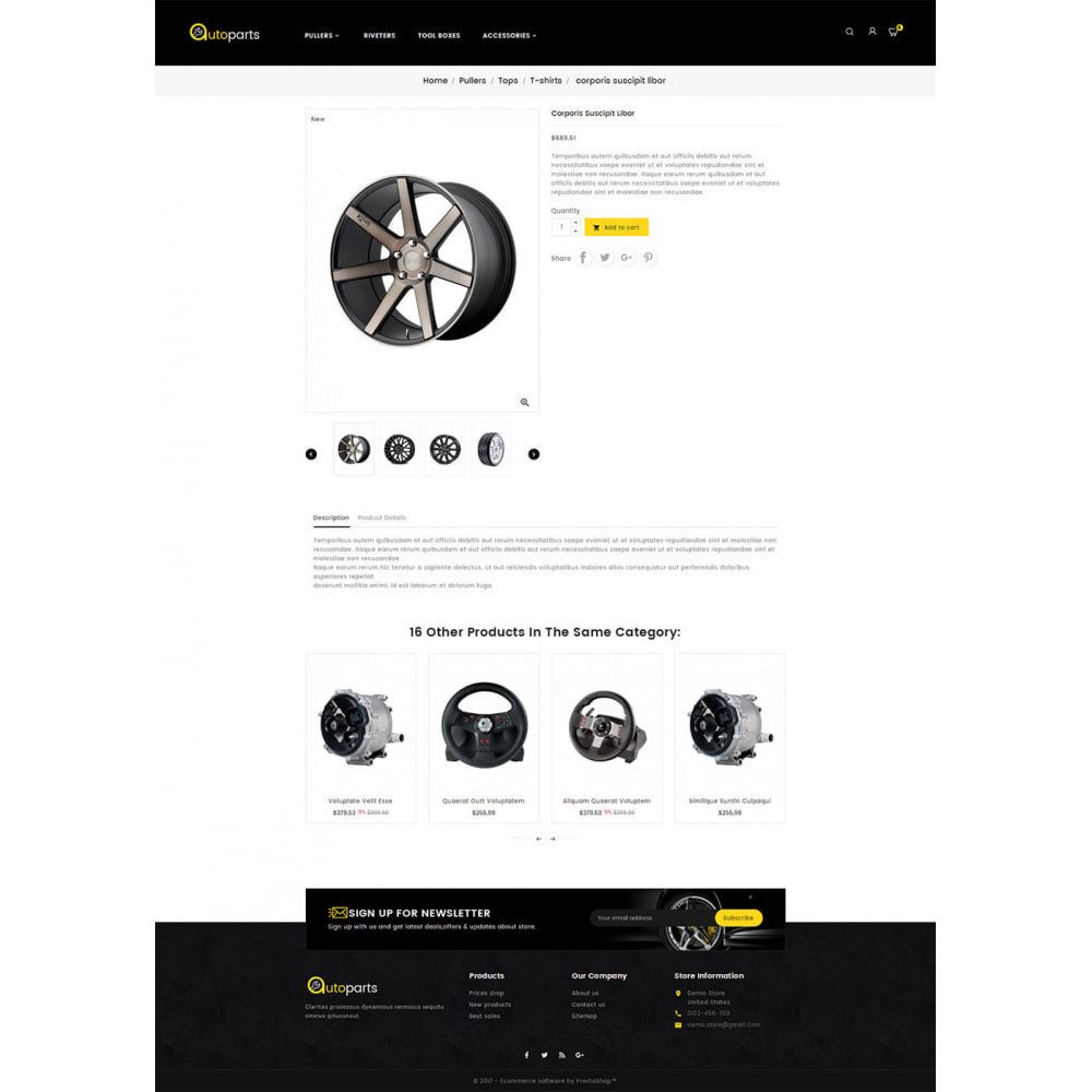 theme - Samochody - Auto Parts Store - 5